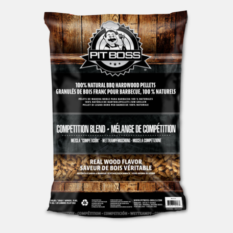 Puidugraanul Pit Boss - Competition Blend 9 kg