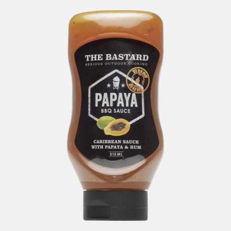 BBQ kaste Bastard Papaya 515 ml