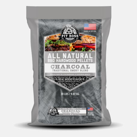 Puidugraanul Pit Boss - Charcoal Blend 9 kg
